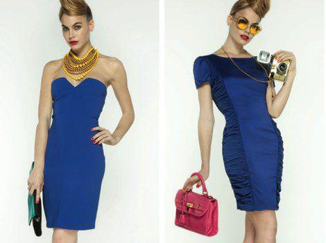 Vestidos azules de Dolores Promesas