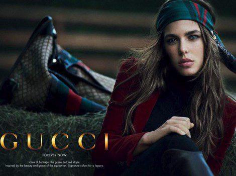 Primeras imágenes de Carlota Casiraghi en la campaña 'Forever Now' de Gucci