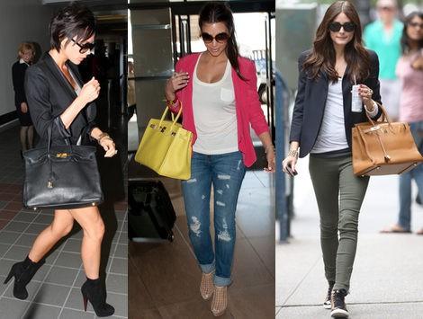 Las celebrities aman sus Birkin de Hermès