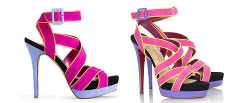 Jessica Simpson se 'inspira' en un exitoso modelo de Louboutin para su nueva colección de calzado