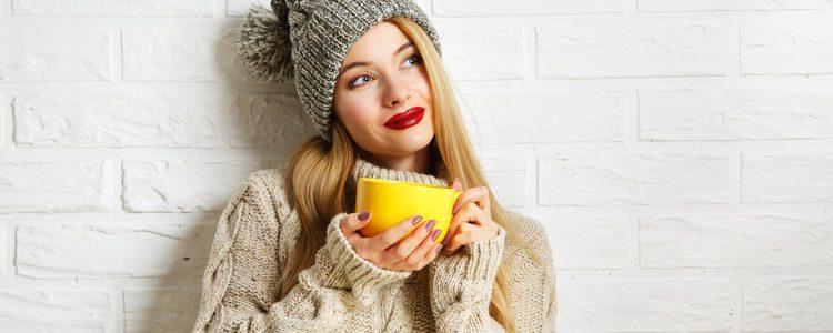 Selecciona tejidos que protejan del frío