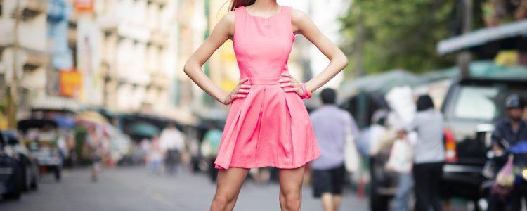 Para verano escoge vestidos cortos