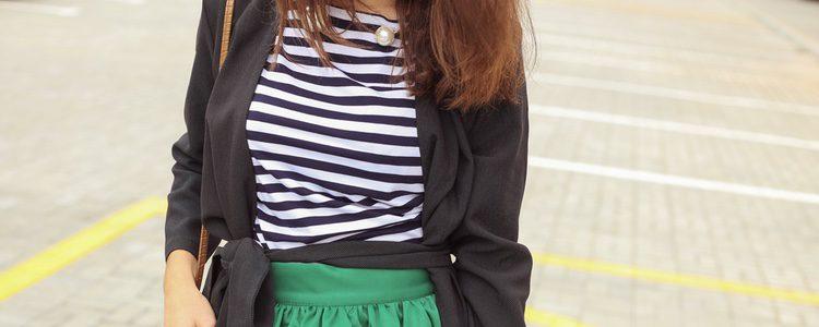 Se pueden encontrar muchas prendas con el estampado de rayas
