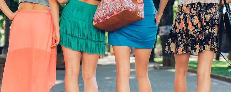 No todas las minifaldas sirven para todas las siluetas