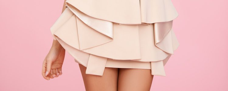 Las faldas con volantes son perfectas para ganar volumen