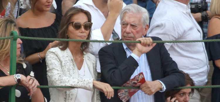 Isabel Preysler y Mario Vargas Llosa en Las Ventas