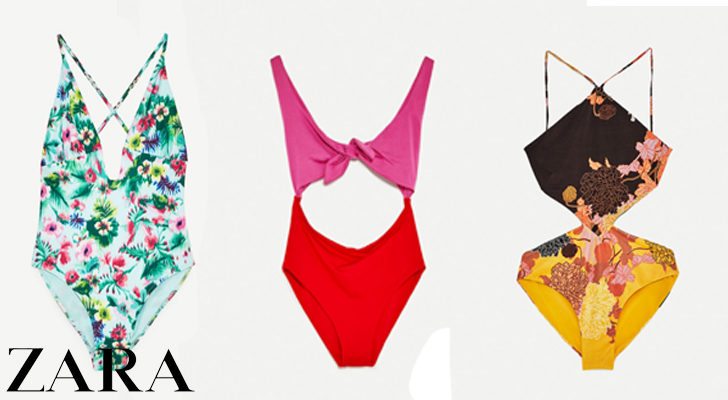 Bañadores de Zara