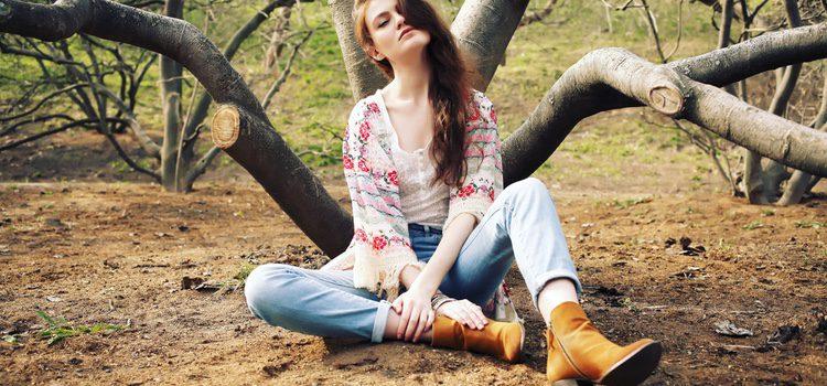 os kimonos cortos es recomendable llevarlos con mucho colorido o estampados