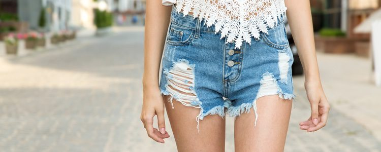 Short denim clásico