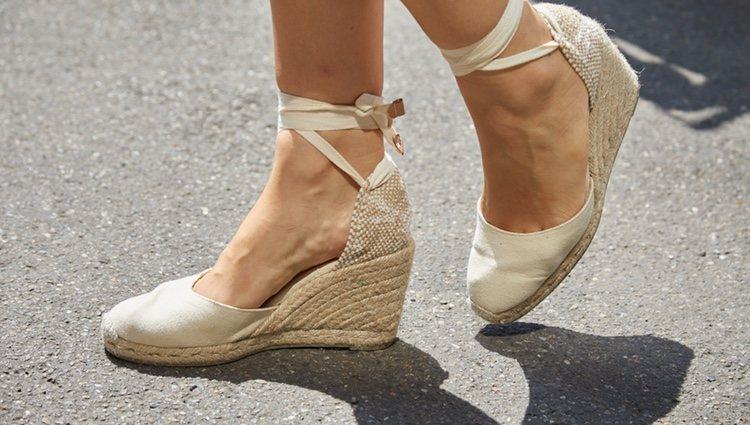Las cuñas del esparto es el zapato ideal para ir con estilo y cómoda