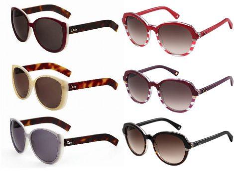 Gafas de sol de Dior para 2012
