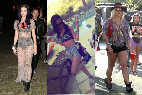 Looks de Coachella 2012