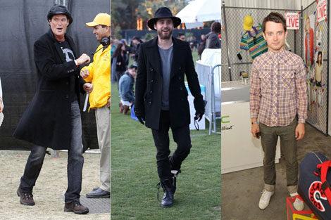 Los looks masculinos en Coachella