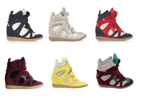 Las sneakers de Isabel Marant