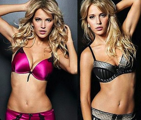 La actriz y modelo argentina con modelos más llamativos