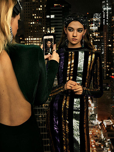 Zara elige las lentejuelas de colores en su última colección de fiesta