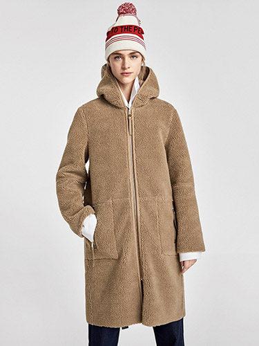 Versión 'low cost' de Zara del abrigo de borrego 'Teddy Bear'