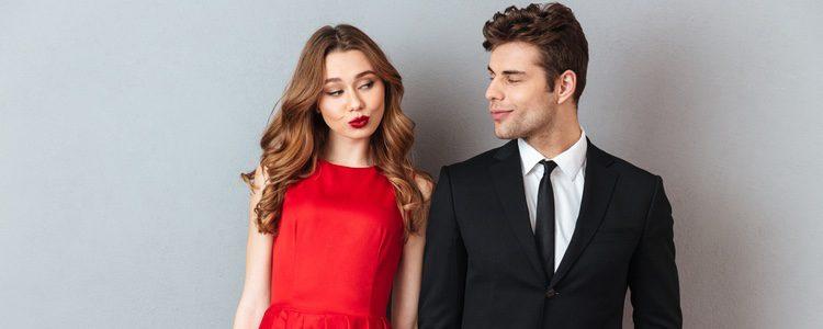 Si tienes una cita romántica lo mejor es que te pongas algo formal