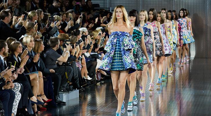 Uno de los desfiles de London Fashion Week