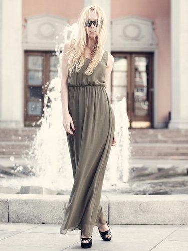El vestido largo es el mejor aliado
