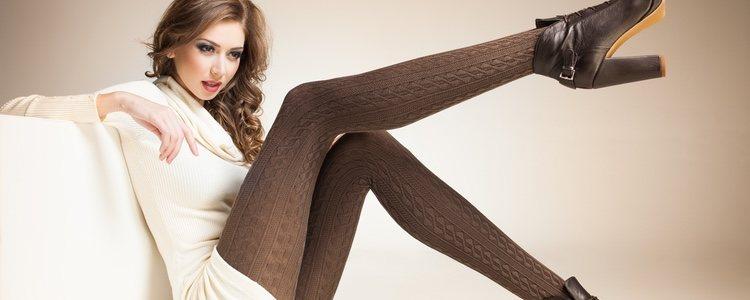 Las medias son un complemento perfecto para darle un toque más chic a tu look