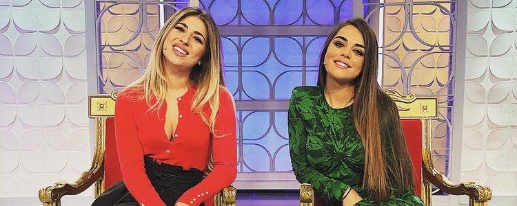 Violeta Mangriñan en el trono de 'MyHyV' luciendo el vestido de Zara | Fuente: Instagram
