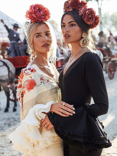 0a1057884 5 looks perfectos para ir a la Feria de Abril de Sevilla - Bekia Moda