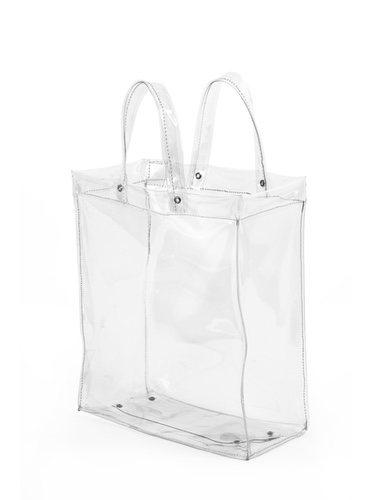 El truco del bolso transparente es meter en el interior otro bolso para que no se vea nada