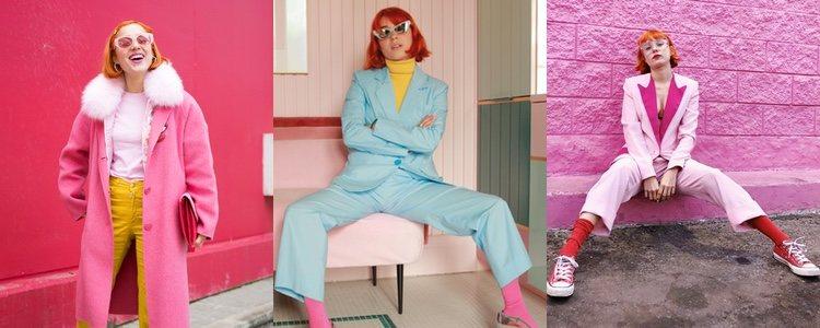 Miranda Makaroff es una fiel al estilo color block / Fuente: Instagram