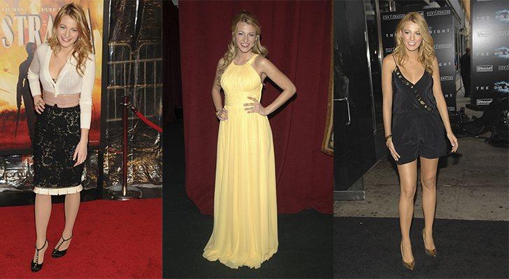 Algunos estilismos de Blake Lively en 2008