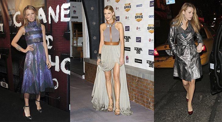 Algunos estilismos de Blake Lively en 2010