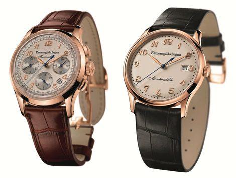 Relojes de la colección Monterubello Zegna