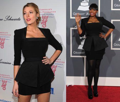 El mismo vestido en celebrities distintas