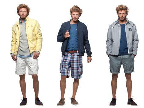 Tres estilos de pantalones cortos para la colección veraniega de Chevignon