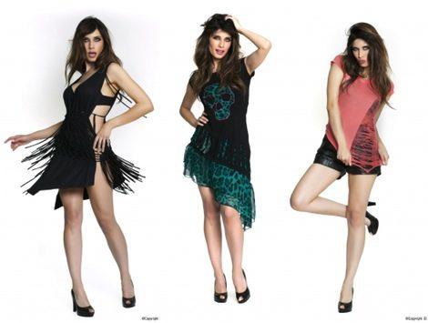 Algunos de los modelos de la ropa de Pilar Rubio para el Armario de la Tele