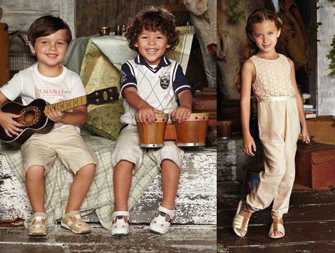 Moda infantil de Chicco para este Verano 2012