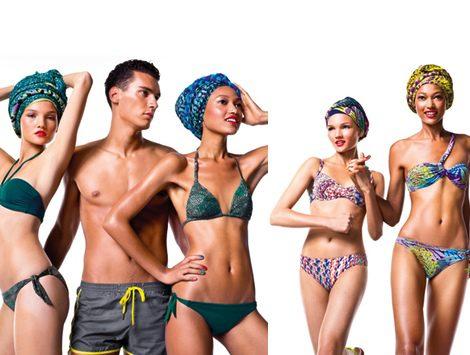 Ropa de playa de la nueva colección Undercolors of Benetton