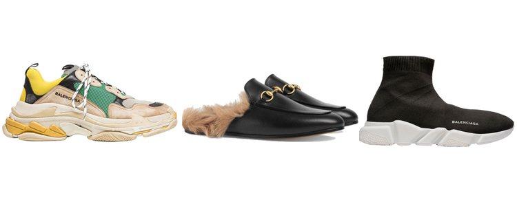 Balenciaga y Gucci fueron los precursores de la moda 'ugly shoes'
