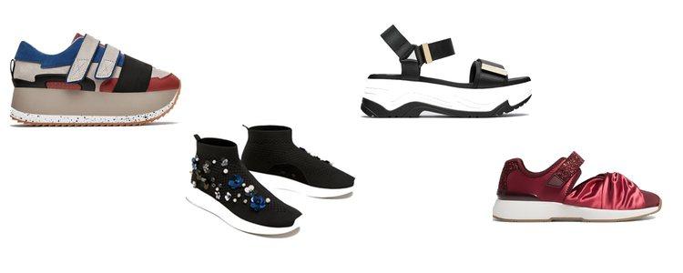 Inditex rápidamente tomó también la moda de los 'ugly shoes'