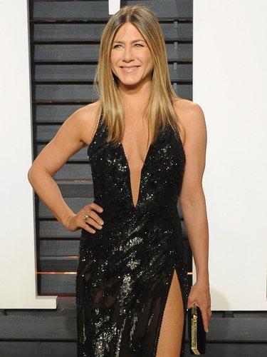 Jennifer Aniston es uno de los ejemplos de cuerpo en forma de rectángulo