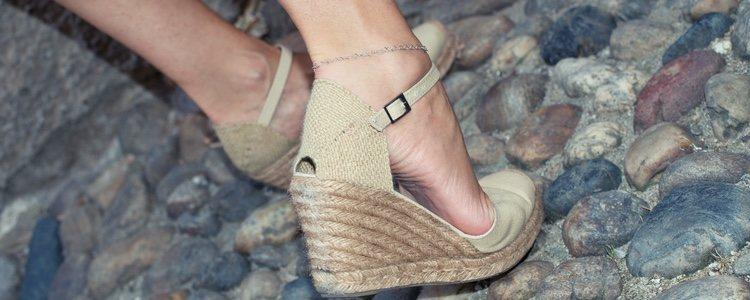 Las alpargatas de cuña es un calzado de lo más cómodo
