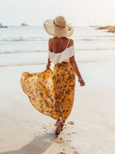 Las faldas permiten crear looks de lo más versátiles, ya sea para ir a la playa como para salir por la noche