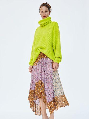 Zara apuesta la falda asimétrica en su última colección