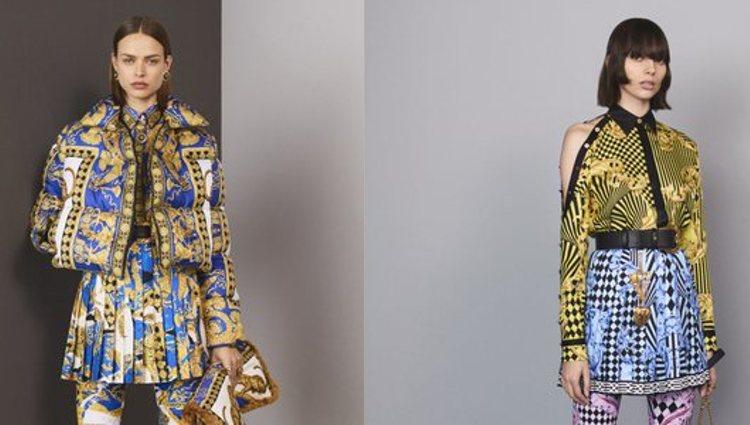 Versace apostó por este estampado desde sus inicios / Fotos: Versace