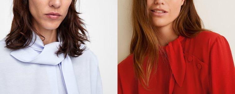 La camisa pussy-bow </p><p>se caracteriza por los lazo en el cuello