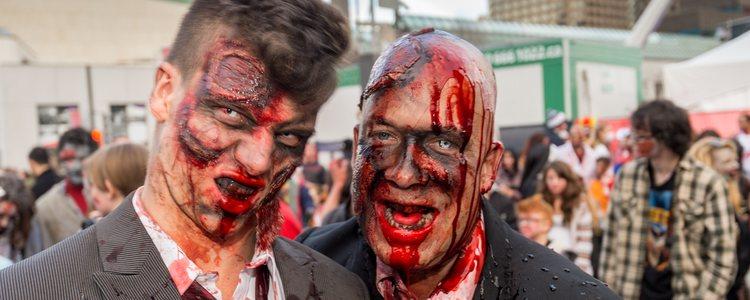 Disfraces típicos como el de zombie