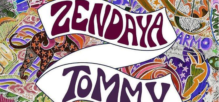 Imagen corporativa de la colaboración de Zendaya con Tommy Hilfiger