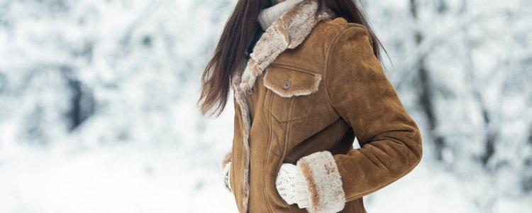 El borrego no sólo protege del frío sino que da un efecto estético novedoso