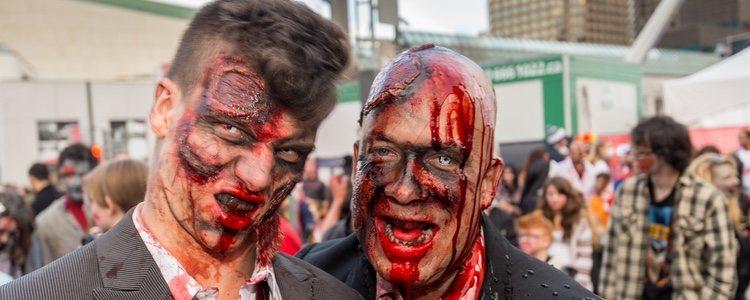 El maquillaje será la clave fundamental de este terrorífico disfraz