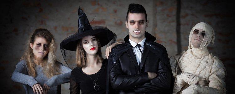 La fiesta de Halloween es la excusa perfecta para disfrazarse de personajes terroríficos